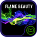 Flame Beauty Wallpaper