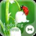 Flower Theme Ladybug Flower