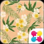 Flower Wallpaper Balmy Palms