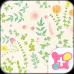 Flower Wallpaper Green Leaf