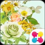 Flower Wallpaper Minty