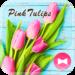 Flower Wallpaper Pink Tulips