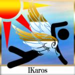 Flying Ikaros