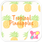 FruitTheme Tropical Pineapples