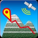 GPS MAP 高度計 地図 高低変化グラフ付 hiMalt