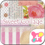 Girly Theme Sweet Pink Collage