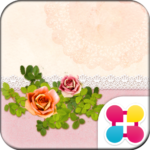 Girly Wallpaper Antique Rose