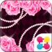 バラ壁紙 Glitter rose