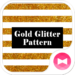 Gold Glitter Pattern Wallpaper