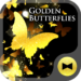 Golden Butterflies Wallpaper
