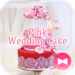 Happy Wallpaper Pink Wedding Cake Theme
