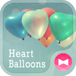 Heart Balloons +HOME Theme