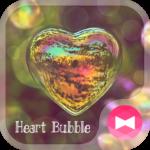 Heart Bubble  Beautiful Theme