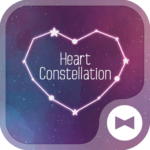 Heart Constellation Wallpaper