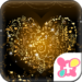 Heart Theme-Golden Vines-