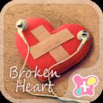 Heart wallpaper-Broken Heart-