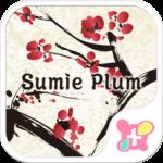 Japanese Style-Sumie Plum