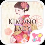Japanese style-Kimono Lady-