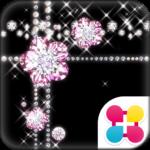 Jewel Theme Diamond Flower