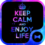 Keep Calm and Enjoy Life Theme