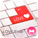 LOVE Enter Free Theme