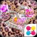 Leopard Hearts Wallpaper Theme