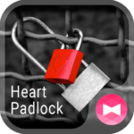 Love Theme Heart Padlock