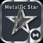 Metallic Star Wallpaper