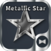 Metallic Star Wallpaper