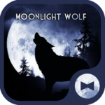 Moonlight Wolf Wallpaper