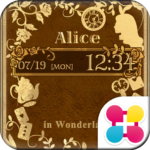 Old Book Of Alice Wallpaper