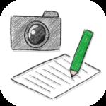 紙用カメラ