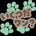 【犬の年齢を簡単計算!】いくつだワン?