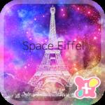 Paris Wallpaper-Space Eiffel-