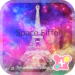 Paris Wallpaper-Space Eiffel-