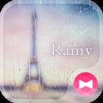 Paris wallpaper Rainy Theme