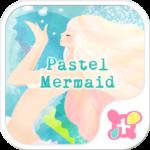 Pastel Mermaid Wallpaper