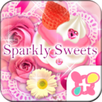Pink Wallpaper Sparkly Sweets