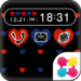 Polka-Dot Heart Wallpaper