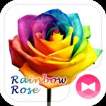 Rainbow Rose +HOME Theme