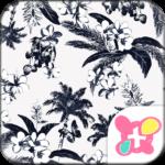Resort Theme-Flowers & Fronds-
