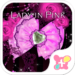 Ribbon wallpaper-Lady in Pink-
