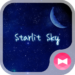 Romantic Wallpaper Starlit Sky