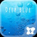 Sea wallpaper-Deep Blue-