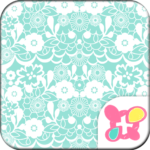 Simple Theme-Lace Flowers-