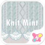 Simple Wallpaper Knitted Mint