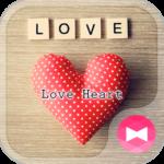 Simple Wallpaper-Love Heart-