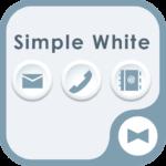 Simple White Wallpaper&icon