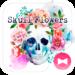 Skull Flowers Wallpaper