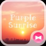 Sky Wallpaper Purple Sunrise